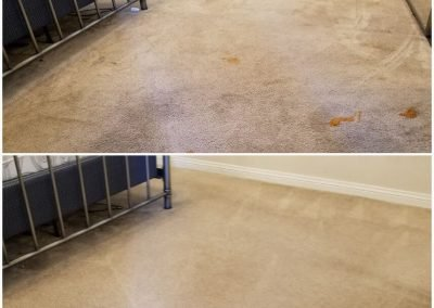 before and after carpet cleaning long beach ca