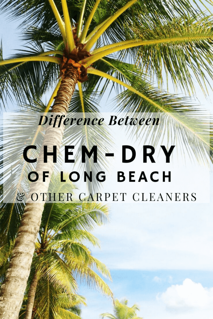 difference between chem-dry of long beach and other carpet cleaners