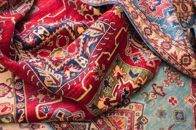 colorful oriental rug