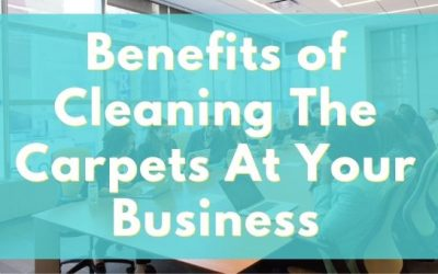 Benefits of Cleaning The Carpets At Your Business