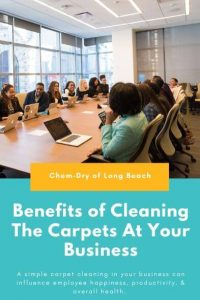 Benefits of Cleaning the Carpet at Your Business