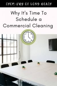 Why it's time to schedule a commercial cleaning
